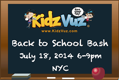 KidzVuz Back to School Bash Brings the Whole Family Together!