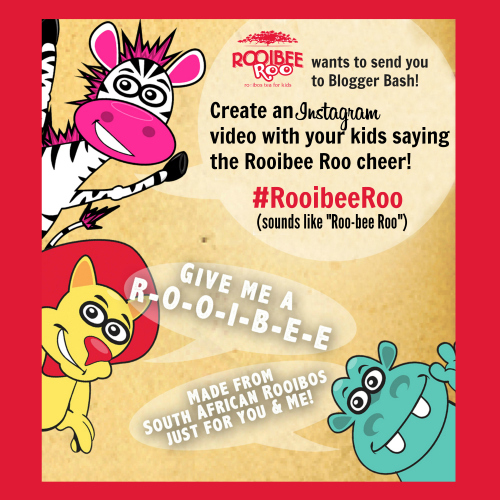 Rooibee Red, Blogger Bash, and You! Instagram Contest