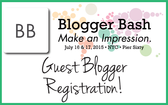 Become a Blogger Bash Guest Blogger