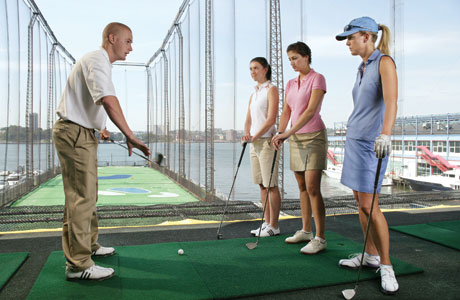 Chelsea Piers Golf Range