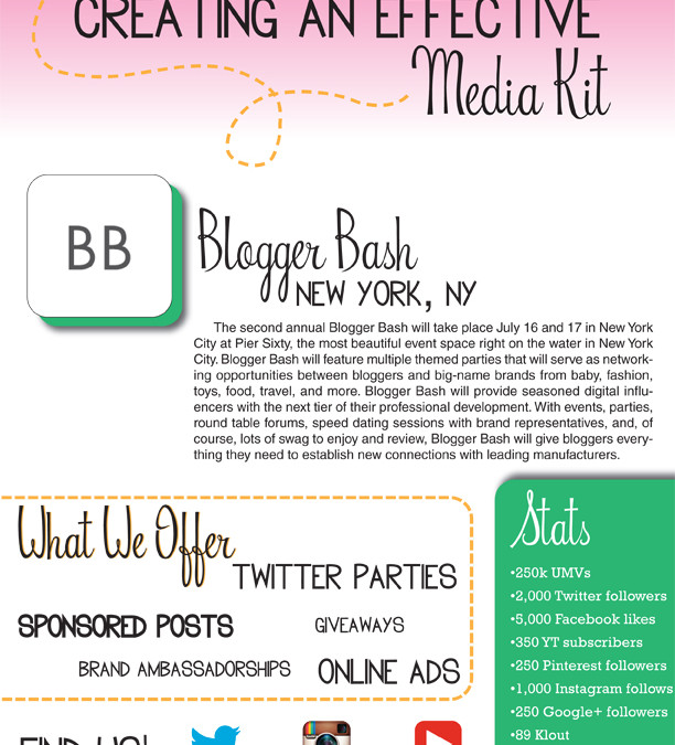 Creating an Effective Media Kit