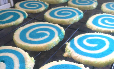 Cookie Recipe: Blogger Bash Blue Blurs