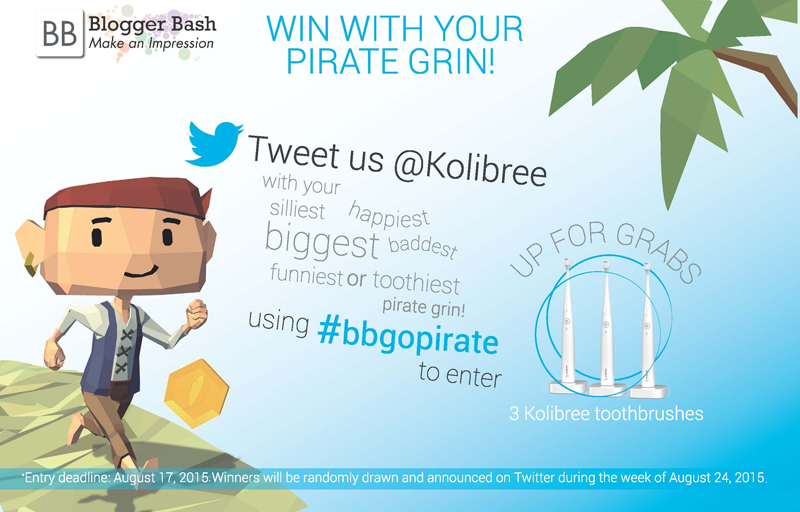 Enter to Win a Kolibree Toothbrush!