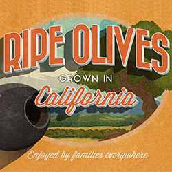 California Ripe Olives