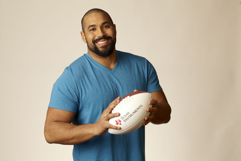 Meet John Urschel at #BBNYC!