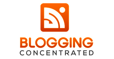Blogging Concentrated Logo