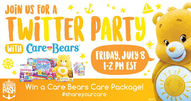 Care Bears Twitter Party: July 8!
